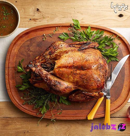 آموزش تهیه مرغ شکم پر بدون فر؛ مجلسی و آسان