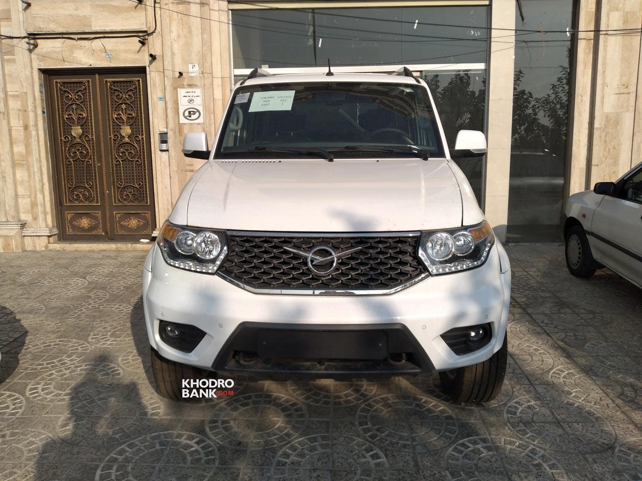 تصاویر خودروی روسی پاتریوت در ایران منتشر شد
