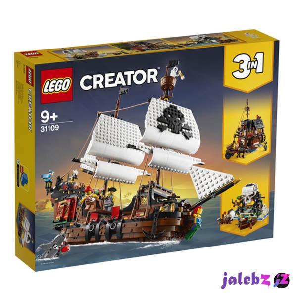 ساختنی لگو مدل کشتی دزدان دریایی