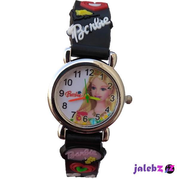 ساعت مچی عقربه ای دخترانه مدل barbie pi-3267
