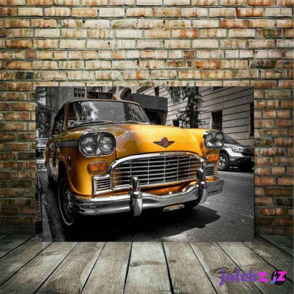 پوستر دیواری طرح ماشین کلاسیک مدل PO1461