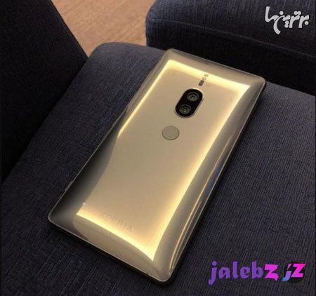 لو رفتن تصویری از گوشی سونی Xperia XZ۲ Premium طلایی رنگ!