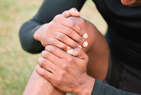 درد زانو هنگام ورزش و دویدن