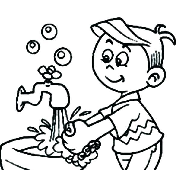 شستن شست و انگشتان با آب و صابون