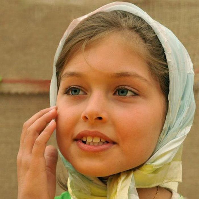 عکس دختر بچه ایرانی