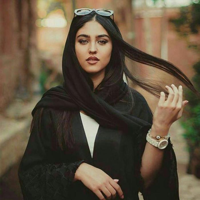 عکس دختر مو بلند ایرانی