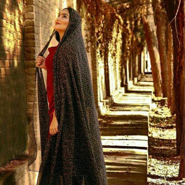 عکس دختر ایرانی با حجاب خوشگل
