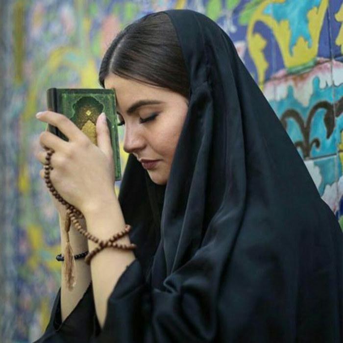 عکس دختر ایرانی با چادر
