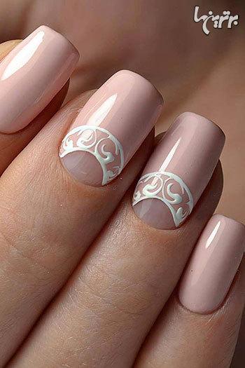 زیباترین مدلهای طراحی ناخن برای عروس خانمها