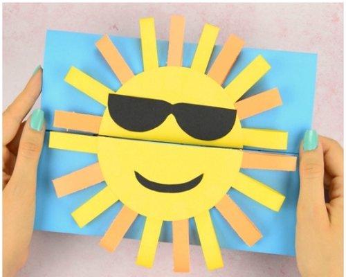 کاردستی خورشید تابستانی