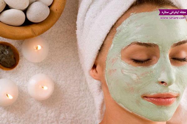 انواع ماسک صورت، ماسک آبرسان صورت، ماسک روشن کننده صورت، ماسک خانگی