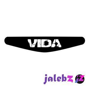 برچسب لایت بار دسته پلی استیشن 4 ونسونی طرح Vida