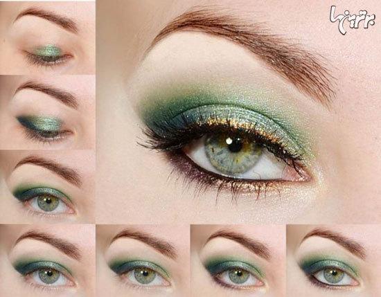آموزش آرایش چشم، مخصوص میهمانی