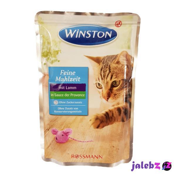 غذای پوچ گربه وینستون مدل Lamm in Sauce وزن 100 گرم