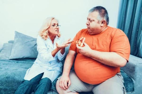 چاق بودن شوهر
