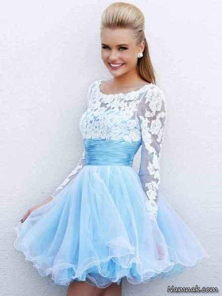 مدل لباس مجلسی کوتاه 2015