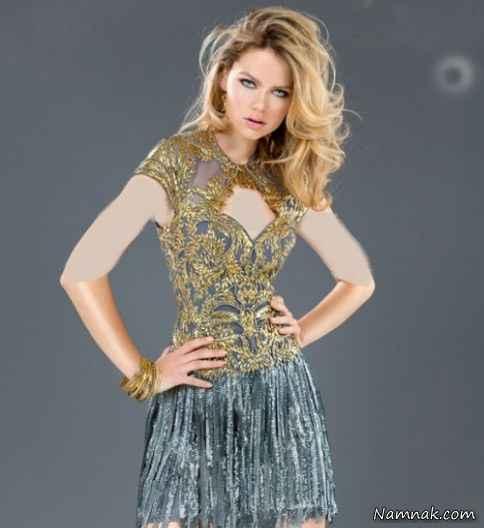 مدل لباس مجلسی جدید 2015