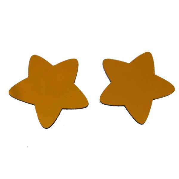 آینه پلکسی گلس سانا مدل ستاره های مهربان مجموعه دو عددی