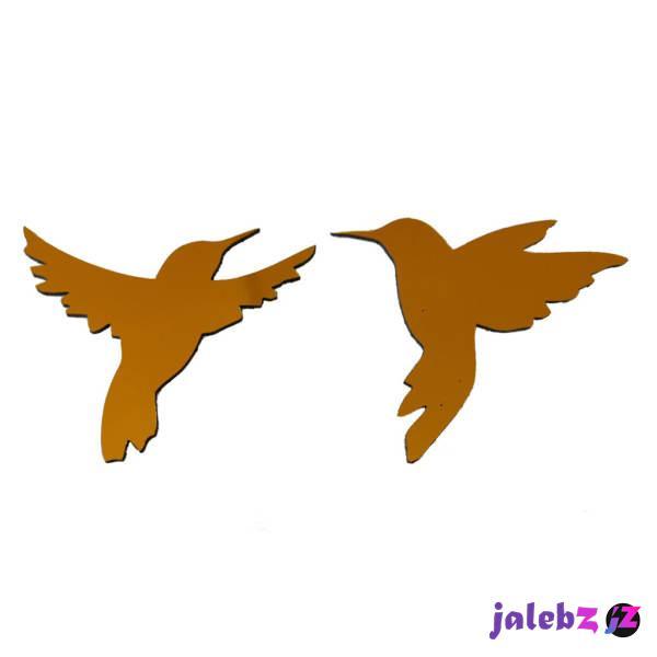 آینه پلکسی گلس سانا مدل پرنده ها مجموعه دو عددی
