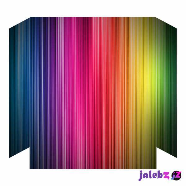 برچسب پلی استیشن ۴ فت مدل رنگارنگ
