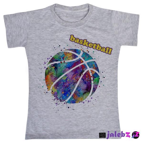 تی شرت دخترانه 27 مدل بسکتبال کد V121