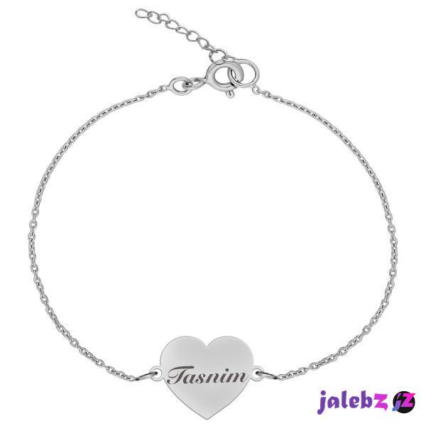 دستبند نقره زنانه ترمه ۱ مدل تسنیم کد DN 1059