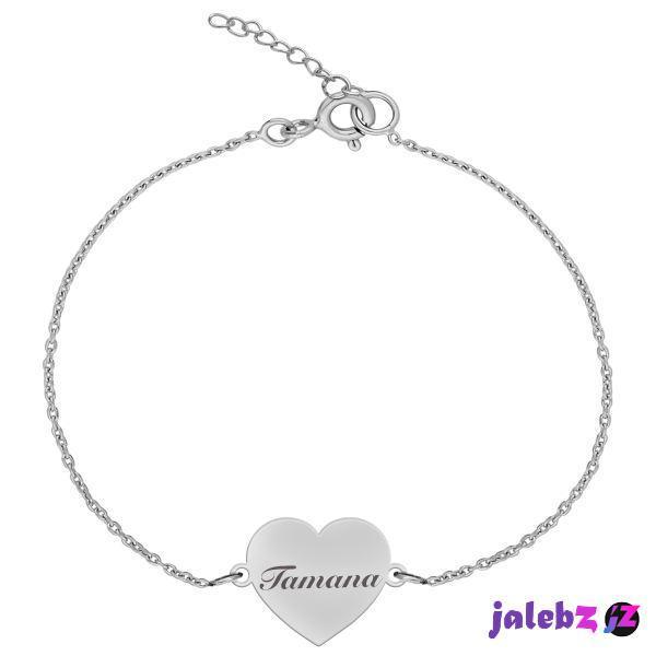 دستبند نقره زنانه ترمه ۱ مدل تمنا کد DN 1061