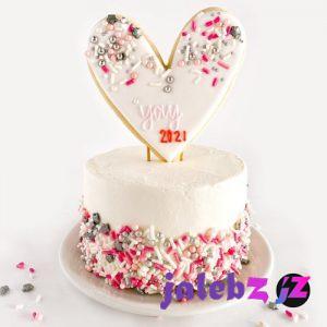 مدل کیک تولد 2021 عاشقانه