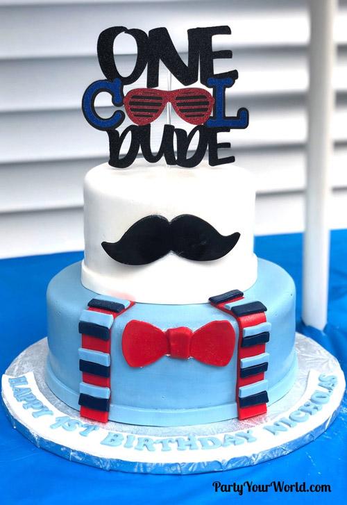کیک تولد پسرانه شیک