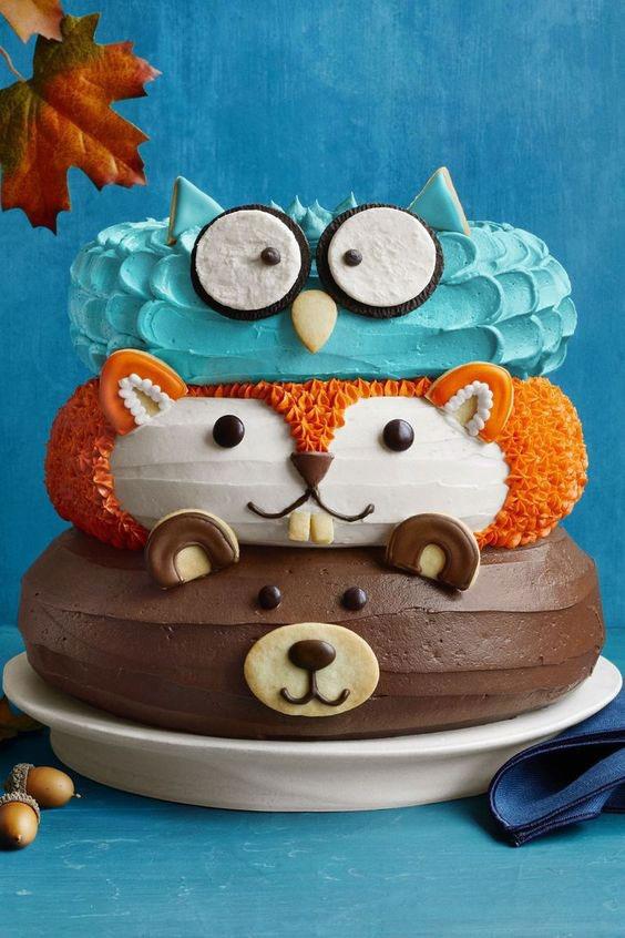 کیک تولد پسرانه یک سالگی