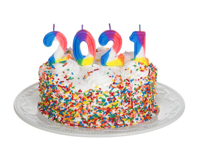 عکس کیک تولد 2021 ساده دو نفره