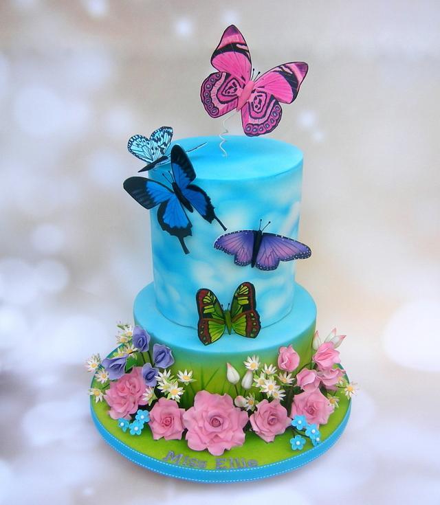 کیک تولد دخترانه بسیار شیک 2021