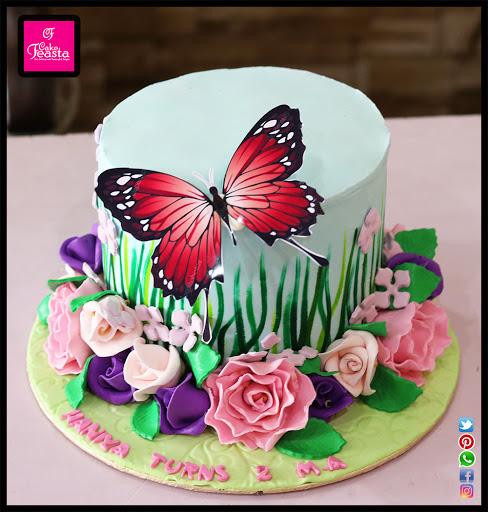 کیک تولد سال 99 دخترانه