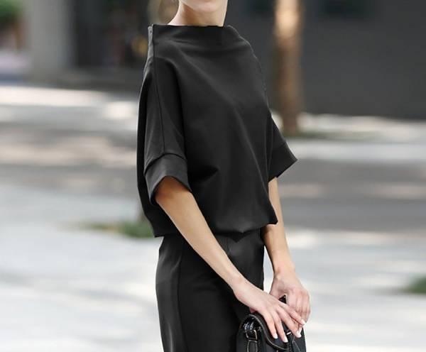 پوشیدن لباسهای تیره