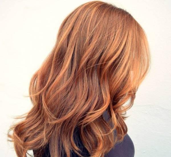 رنگ مو قهوه ای