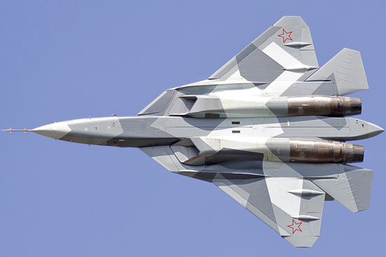 سوخو -57؛ آخرین شوالیه سرخ