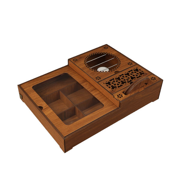 جعبه پذیرایی لوکس باکس مدل وارمر کد WALB111-M0