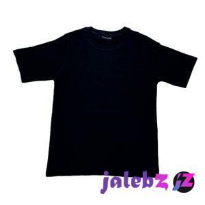 تیشرت آستین کوتاه پسرانه مدل T14 رنگ مشکی