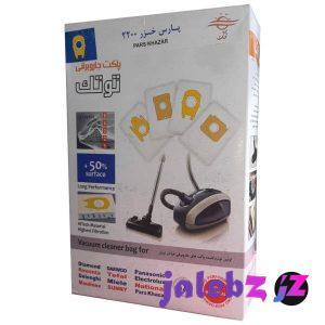 کیسه جاروبرقی توتک مدل 11020 بسته 4 عددی مناسب جاروبرقی پارسخزر 2200