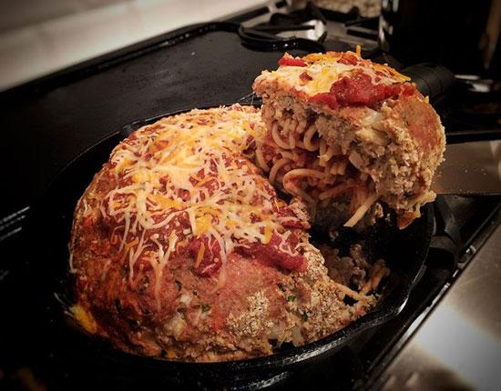 طرز تهیه اسپاگتی کوفته ای